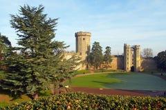 Het kasteel van Warwick in het UK Stock Afbeelding