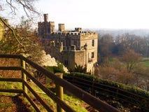 Het kasteel van Warwick in het UK Stock Foto