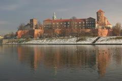 Het Kasteel van Wawel Royalty-vrije Stock Fotografie
