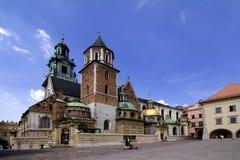 Het Kasteel van Wawel Stock Afbeelding