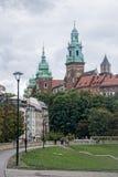 Het Kasteel van Wawel Stock Afbeeldingen