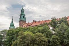 Het Kasteel van Wawel Royalty-vrije Stock Foto