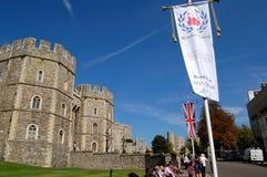 Het Kasteel van Windsor, Londen Royalty-vrije Stock Fotografie