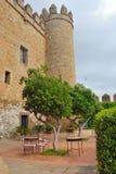 Het kasteel van Zafra Royalty-vrije Stock Foto's