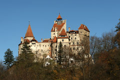 Het kasteel van zemelen royalty-vrije stock afbeelding