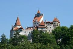 Het kasteel van zemelen stock afbeelding