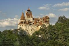 Het kasteel van zemelen, de woonplaats van Dracula Royalty-vrije Stock Afbeelding