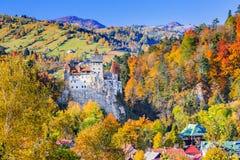 Het Kasteel van zemelen, Roemenië stock afbeeldingen