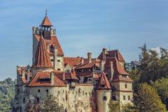 Het Kasteel van zemelen, Roemenië royalty-vrije stock foto's
