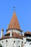 Het kasteel van zemelen, Roemenië Stock Afbeelding
