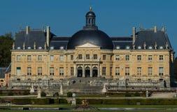 Het kasteel vaux-le-Vicomte, dichtbij Parijs, Frankrijk Royalty-vrije Stock Foto's