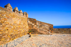 Het Kasteel Zuidelijk Spanje van Gibraltar Royalty-vrije Stock Fotografie
