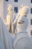 Het Kasteeldetail van Bratislava Stock Afbeeldingen