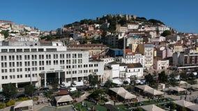 Het kasteelheuvel van Lissabon Royalty-vrije Stock Foto's