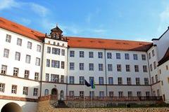 Het kasteeljeugdherberg van Colditz Stock Foto