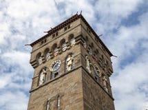 Het KasteelKlokketoren van Cardiff royalty-vrije stock foto
