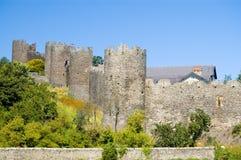 Het kasteelmuren van Conway Royalty-vrije Stock Foto's