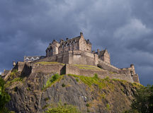 Het Kasteelonweer van Edinburgh royalty-vrije stock foto's
