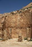 Het kasteelruïnes van Herodium Royalty-vrije Stock Fotografie