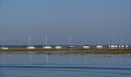 Het kasteelveerboot van Hurst Royalty-vrije Stock Fotografie