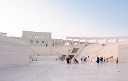 Het Katara-Amfitheater Stock Foto