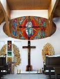 Het katholieke Binnenland van de Kerk Royalty-vrije Stock Foto
