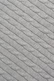 Het katoen breit Textuur Royalty-vrije Stock Fotografie