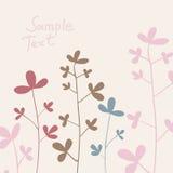Het katoen van de zomerbloemen vector illustratie