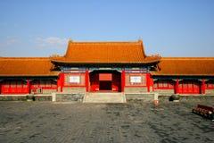 Het keizerPaleis in Peking Stock Foto