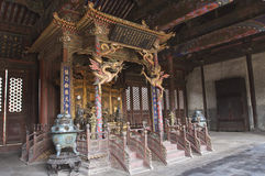 Het KeizerPaleis van Shenyang stock foto's