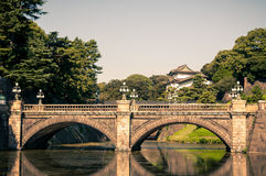 Het Keizerpaleis van Tokyo Stock Afbeelding