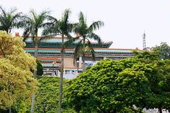 Het Keizerpaleismuseum, Taipeh, China stock fotografie