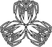 Het Keltische patroon van de Knoop Royalty-vrije Stock Foto's