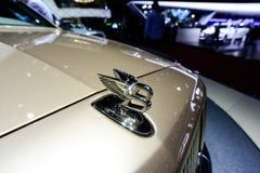 Het kenteken van Bentley Royalty-vrije Stock Foto