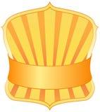 Het kenteken van de politie royalty-vrije illustratie