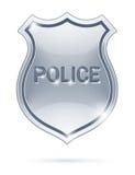 Het kenteken van de politie Stock Fotografie