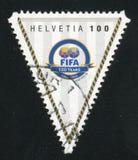 Het kenteken van FIFA stock foto's