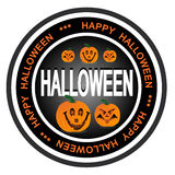Het kenteken van Halloween Stock Foto's