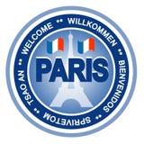 Het kenteken van Parijs stock illustratie