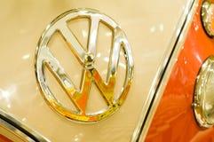 Het kenteken van VW stock foto's