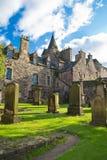 Het kerkhof Canongate royalty-vrije stock fotografie