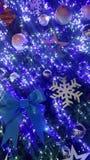 het Kerstmislicht is zeer aardige en gelukkige tijd stock afbeeldingen