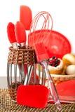 Het keukengerei van het silicium? Stock Fotografie