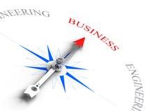 Het kiezen van een bedrijfscarrière, Professionele begeleiding royalty-vrije illustratie