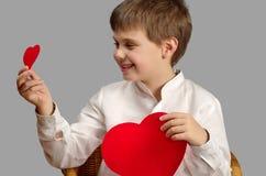 Het kiezen van liefde Stock Afbeelding