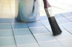 Het kiezen van uw kleur met de grafiek van de steekproefkleur Royalty-vrije Stock Foto