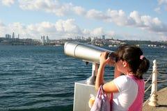 Het kijken aan Istanboel Royalty-vrije Stock Afbeelding