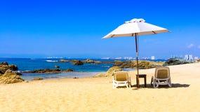 Het kijken over Puerto Vallarta royalty-vrije stock foto's