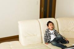 Het kind dat slaap Royalty-vrije Stock Afbeelding