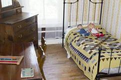 het kind` s slaapkamer van 1920 ` s Royalty-vrije Stock Fotografie